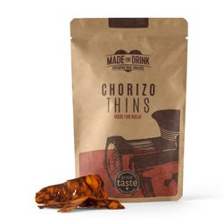 Chorizo Thins by Made for Drink 4 x 23g