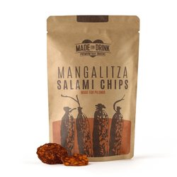 Mangaliza Salami Chips by Made for Drink 4 x 23g