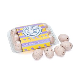 Salted Caramel Chocolate Seagull Eggs by Rococo Chocolate 145g Crate
