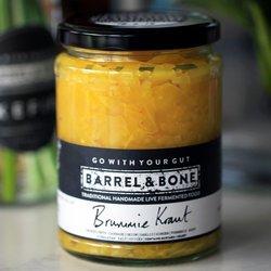 2 x Turmeric Sauerkraut by Barrel & Bone - 'Brummie Kraut' 475g