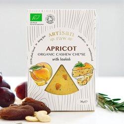 Organic Vegan Cashew Cheese with Apricot & Baobab - Dairy-Free Cheese 30g