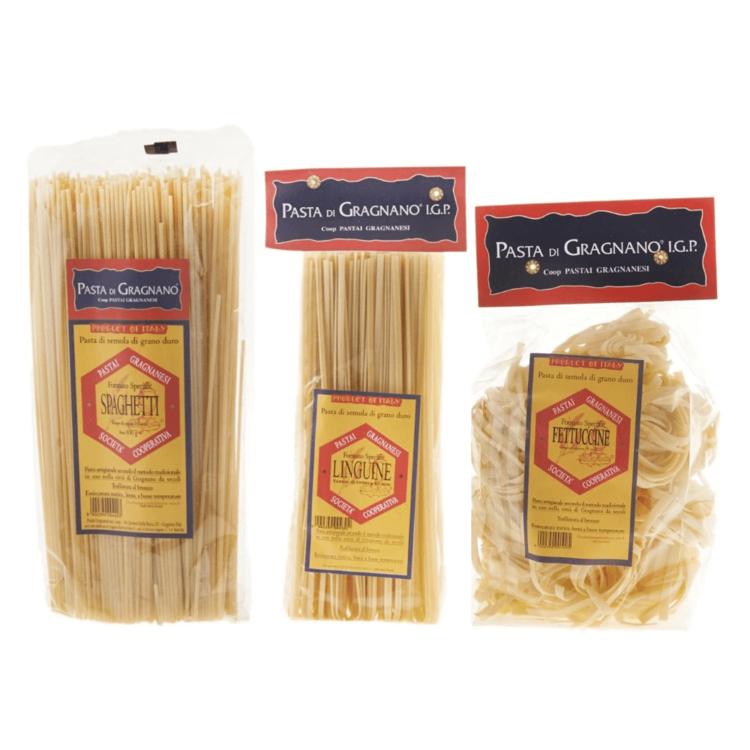 Long Pasta Triple Pack - Spaghetti, Fettuccine & Linguine 3 x 500g