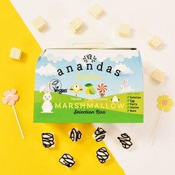 Easter Marshmallows Selection Box - Vegan Marshmallows Gift Box by Anandas