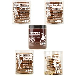 Tiger Nut Cookies & Tiger Nut Spread (Chufatella) Selection Box