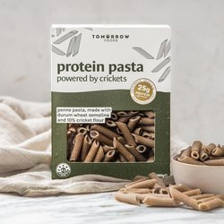 Protein Pasta with Cricket Flour by Tomorrow Foods - Penne Pasta 250g