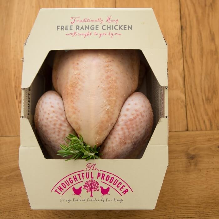 Free-Range, Dry Hung Whole Chicken with Roasting Kit 2-2.5kg (Serves 6-8)