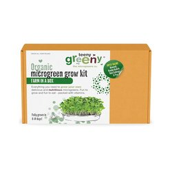 'Gutsy Galore' Microgreens Growing Kit Inc. Broccoli, Radish, Red Cabbage & Pea Seeds - Grow Your Own Microgreens