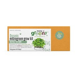 'Rocket Fuel' Microgreens Growing Kit Inc. Broccoli, Red Cabbage & Rocket Seeds - Grow Your Own Microgreens