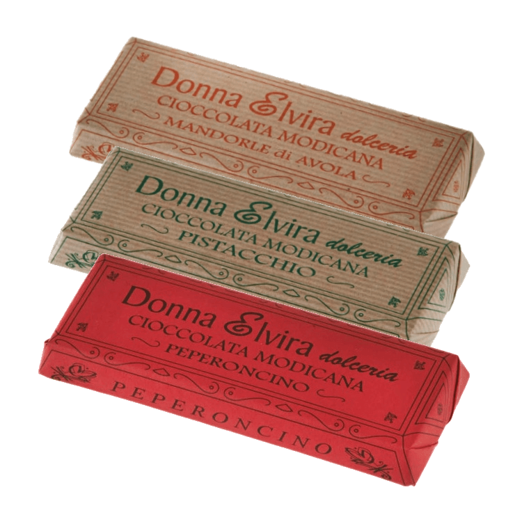 Dairy-Free Modican Chocolate Bar Trio - Pepper, Pistachio & Almonds 3 x 100g