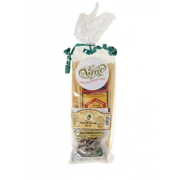 Italian Spaghetti With Porcini Mushrooms Gift Pack