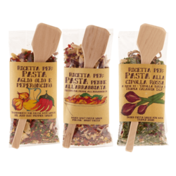 Dried Pasta Sauce Set - Onion, Arrabiata, Garlic & Chilli 3 x 70g