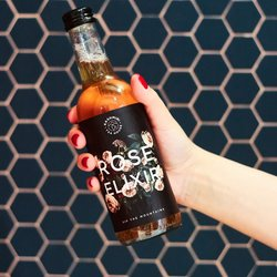 3 x Rose Elixir - Cold-brewed Botanical Elixir Drink (Lightly Caffeinated) 330ml