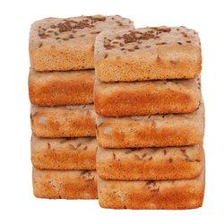 10 x Organic Buckwheat Gluten-Free Panini 'Glutini' 115g (With Wholegrains)