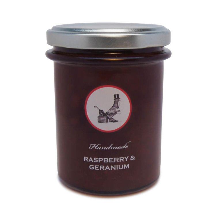 Raspberry & Geranium Jam 212g