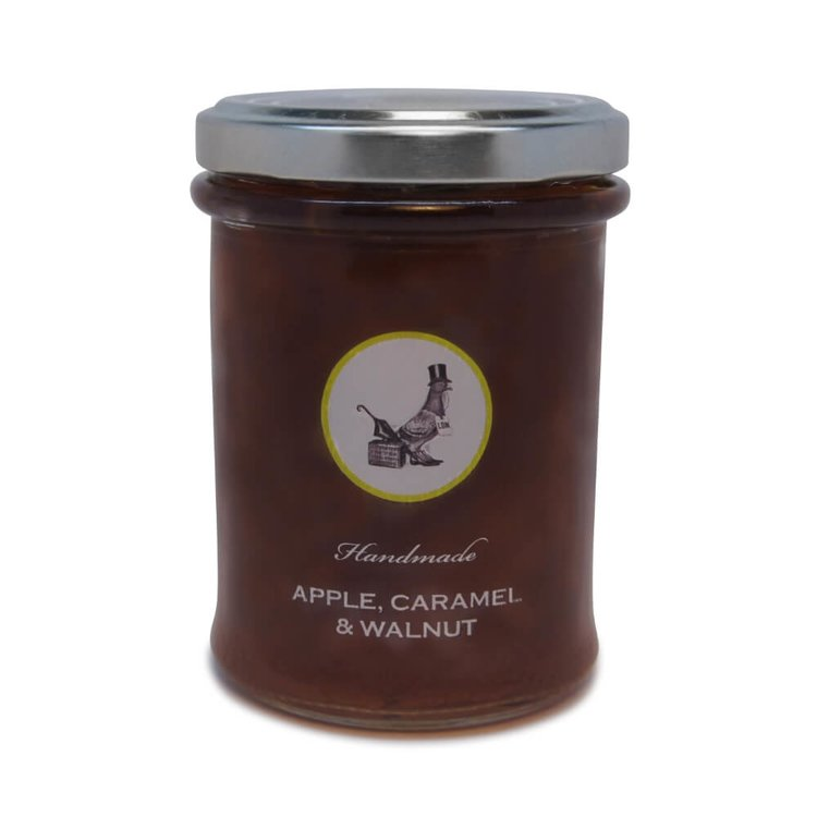 Apple, Caramel & Walnut Handmade Jam 240g