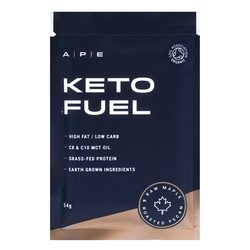 10 x Raw Maple & Roasted Pecan Keto Protein Bars - Keto Fuel by APE Nutrition 57g