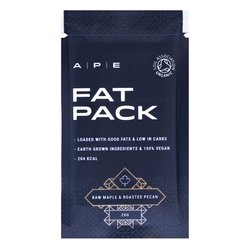 10 x Raw Maple & Roasted Pecan Fat Packs by Ape Nutrition 28g
