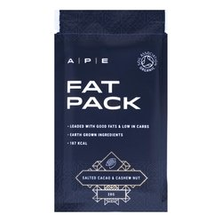 10 x Salted Cacao & Cashew Nut Fat Packs by Ape Nutrition 28g