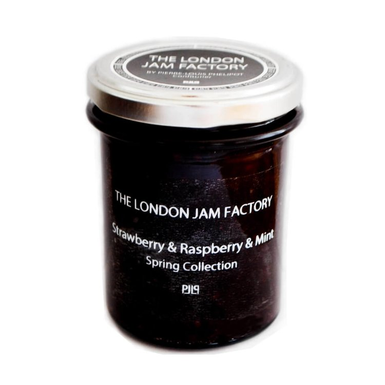Strawberry, Raspberry & Mint Jam 212g