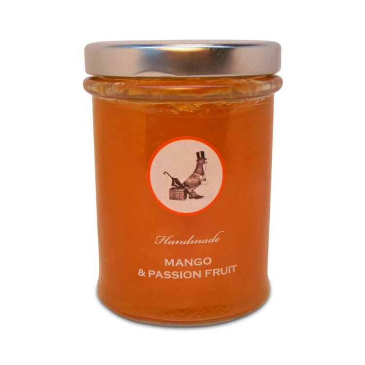 Mango & Passion Fruit Handmade Jam 240g
