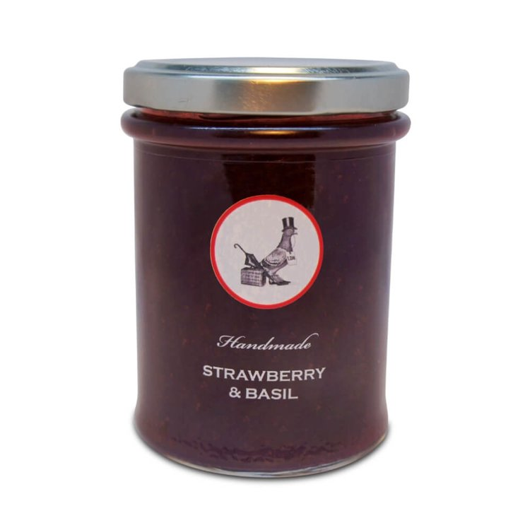 Strawberry & Basil Handmade Jam 240g