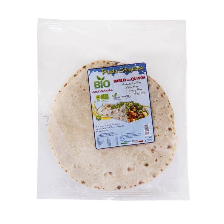 Organic Barley & Quinoa Piadina Flatbread 3 x 270g