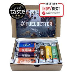 Veloforte Bars Selection Box - Endurance Nutrition Natural Energy Bars in 7 Varieties (7 x 70g)