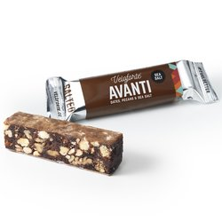 9 x 'Avanti' Veloforte Bars 62g - Vegan Energy Bars with Dates, Pecans & Almonds