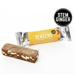 9 x 'Zenzero' Veloforte Bars 62g - Vegan Energy Bars with Lemon, Ginger & Pistachios