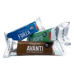 Veloforte Bars Performance Pack - 3 x Pronto, 3 x Avanti & 3 x Forza Natural, Gluten-free Energy Bars (9 x 62g Bars)