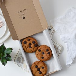 Peanut Butter Cookies - Box of 6 Vegan Cookies (Refined Sugar Free)