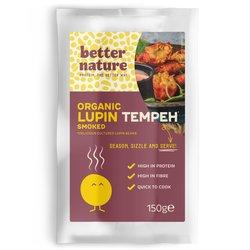 Organic Smoked Lupin Tempeh by Better Nature 4 x 150g