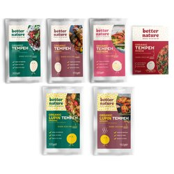 Better Nature Tempeh & Lupin Tempeh Selection Pack