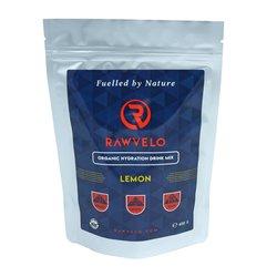Organic Lemon Hydration Drink Mix - Electrolyte Powder by Rawvelo 400g