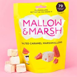 6 Salted Caramel Marshmallow 100g Sharing Bags by Mallow and Marsh