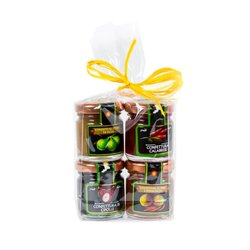 Jam Set - Fig, Tropea Onion, Chilli & Pear 4 x 40g