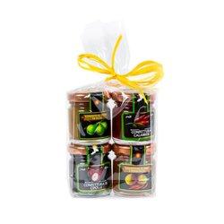 Jam Set - Fig, Tropea Onion, Chilli & Pear 4 x 40g