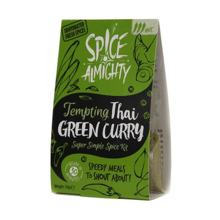 Tempting Thai Green Curry Spice Kit 20g
