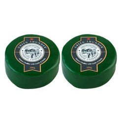 2 x Green Thunder Cheddar with Garlic & Herbs by The Snowdonia Cheese Company 200g