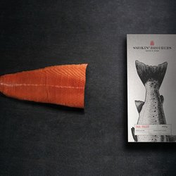 Sliced Tail Fillet Smoked Salmon 400g