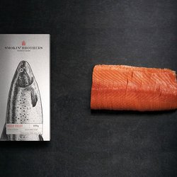 Sliced Belly Fillet Smoked Salmon 600g