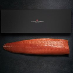 Trimmed Whole Side Smoked Salmon 1.2kg