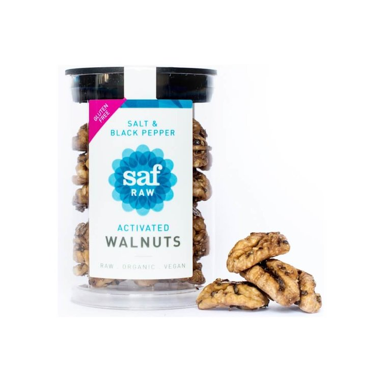 Activated Walnuts Salt & Black Pepper 50g