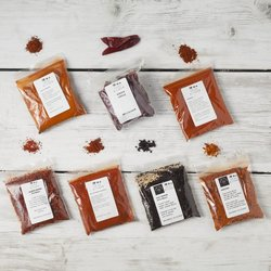 International Chilli Collection with 7 Dried Chillies by Spice Kitchen