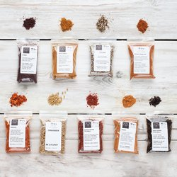 World Spice Mixes & BBQ Rubs Collection by Spice Kitchen