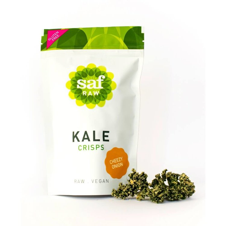 Cheezy Onion Kale Crisps 40g