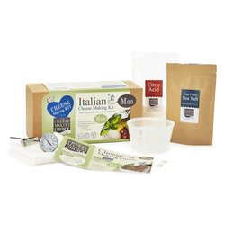 Mozzarella, Mascarpone & Ricotta Italian Cheese Making Gift Kit