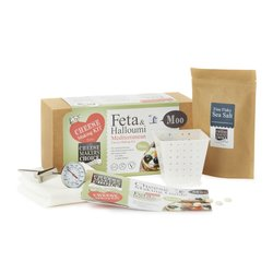Feta & Halloumi Mediterranean Cheese Making Gift Kit