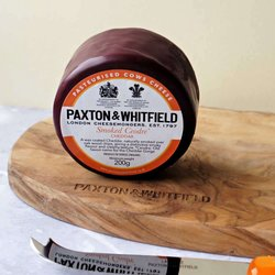 Smoked Cheddar by Paxton & Whitfield - Smoked Ceodre 200g