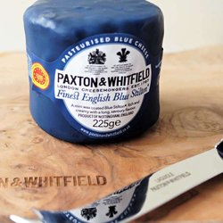 Finest English Blue Stilton in Wax by Paxton & Whitfield 225g